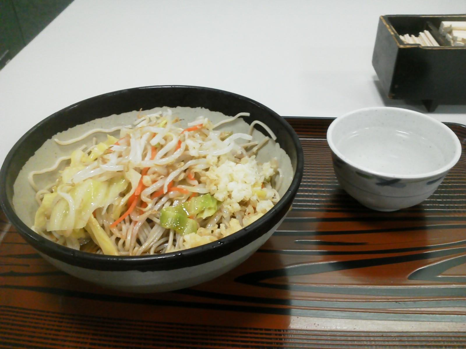 野菜炒めそば