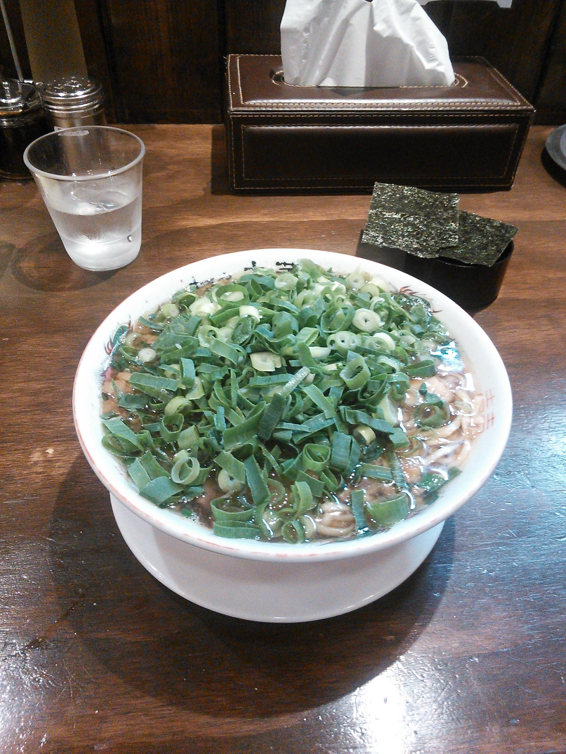 麺や太華の中華そば、ねぎ増し
