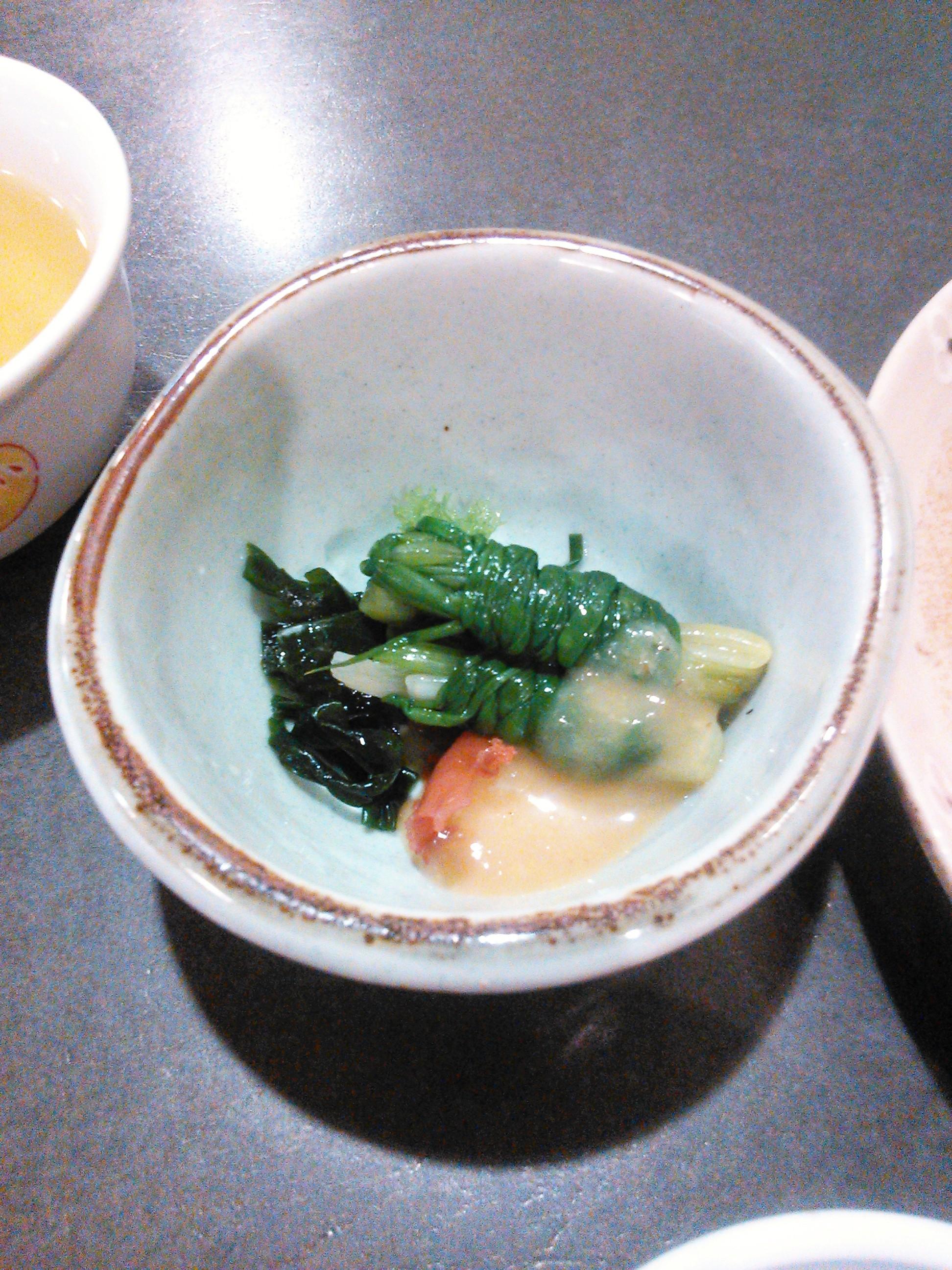 熊本で食べた一文字ぐるぐる