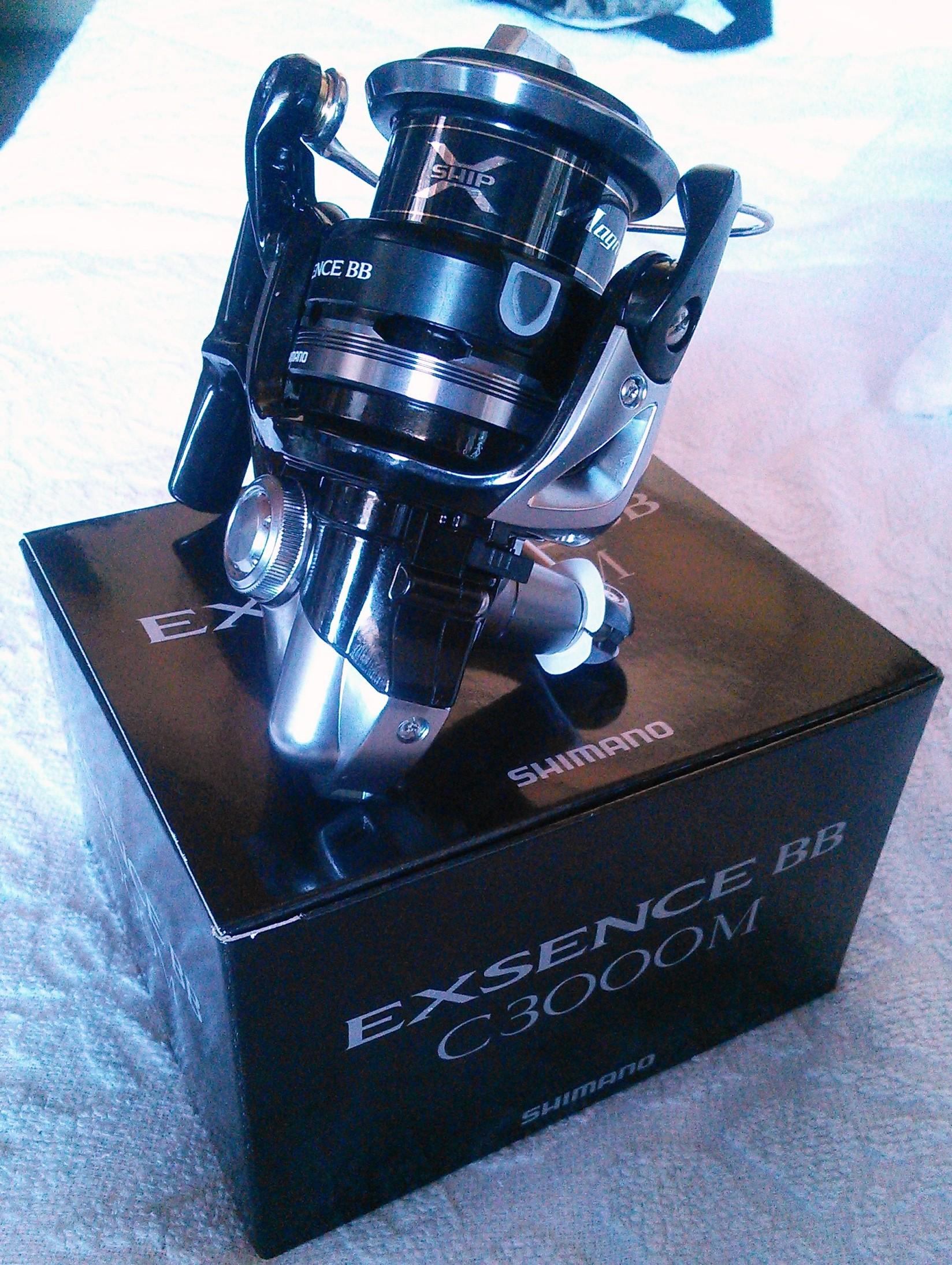 シマノのリール「エクスセンス BB C3000M」