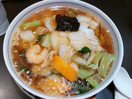 東戸塚西武の中華料理店・唐菜の五目つゆそば