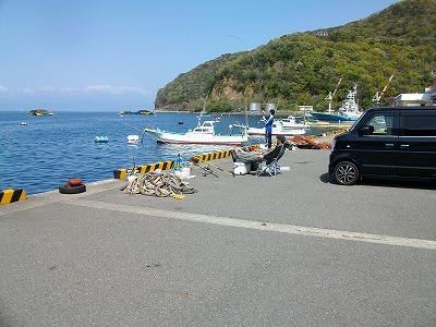 西伊豆・戸田港で両軸遠投カゴ釣り