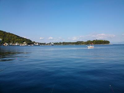 戸田港の風景