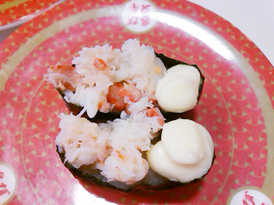 はま寿司の本ずわいマヨ