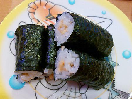 かっぱ寿司の納豆巻