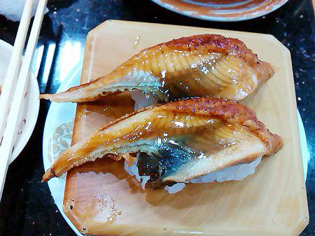 ジャンボおしどり寿司のウナギの蒲焼の握り