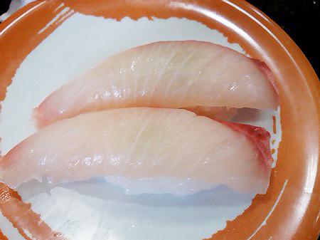 ジャンボおしどり寿司のヒラマサの握り