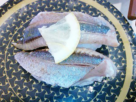 はま寿司の初秋の贅沢握りフェア・北海道産炙り塩さんま
