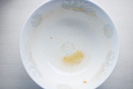 銘店伝説 家系総本山 吉村家を完食&スープも完飲