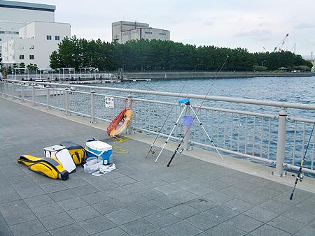 横浜市・杉田臨海緑地の風景