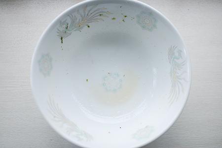 銘店伝説・中華そば ホープ軒本舗のスープも完飲