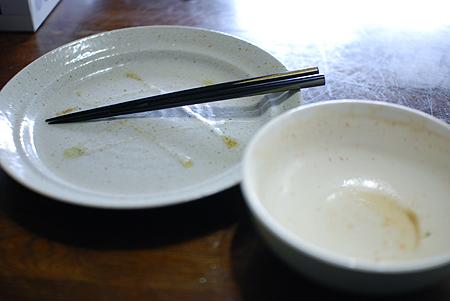 極太 つけ麺の達人 濃厚豚骨醤油のつけ汁も完飲
