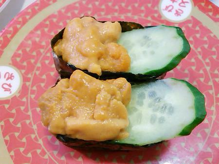 はま寿司のウニの軍艦