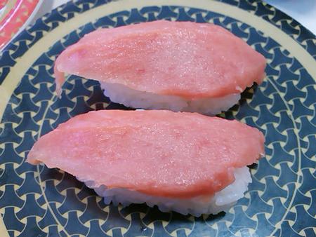 はま寿司のマグロの握り