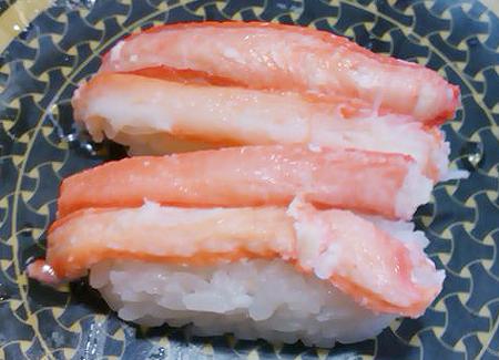 はま寿司の紅ずわいの握り