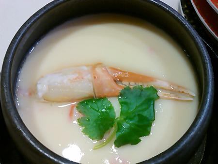 はま寿司の紅ずわい茶碗蒸し