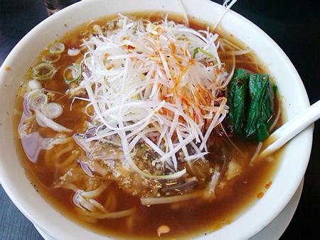 幸楽苑の酸辣湯麺(サンラータンメン)