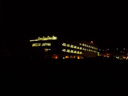 横浜・杉田臨海緑地で夜の風景1