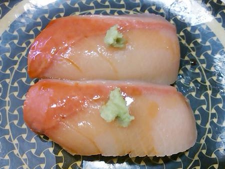 はま寿司の四国産はまちの握り