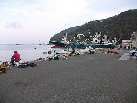 西伊豆・戸田港の新岸壁