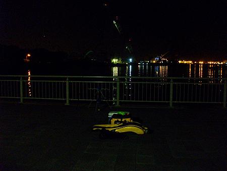 夜の杉田臨海緑地