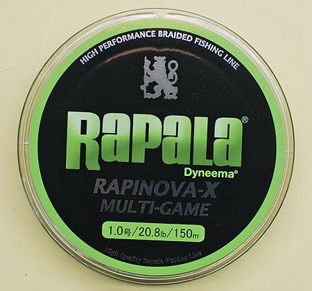 ラパラのラピノヴァエックス マルチゲーム 1.0号のスプール