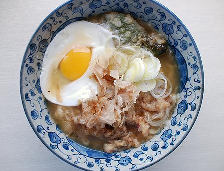 マルちゃん正麺 うどんの調理例