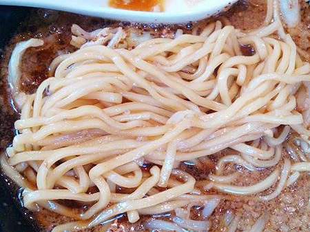 らあめん花月嵐・BLACK DEVIL(ブラックデビル)の太麺