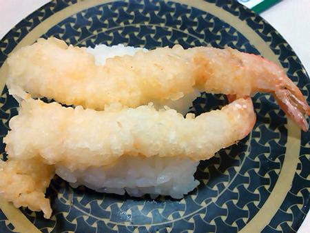はま寿司のえび天の握り