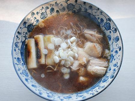 マルちゃん正麺 鴨だしそばの調理例