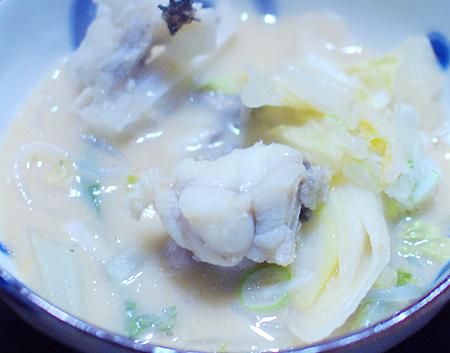 海産物専門おのざきの「あんこう鍋」のアンコウの身