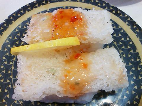はま寿司のベトナム風海鮮春巻きの握り