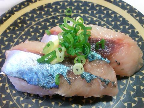 はま寿司の九州・山陰産 生さばの握り