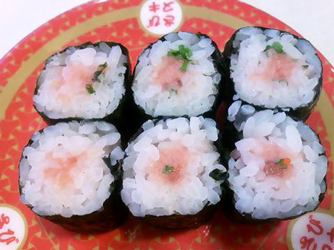 はま寿司のねぎとろ巻