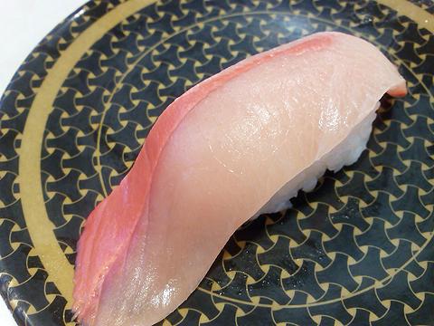はま寿司の四国・九州産 活〆ぶりはらみの握り
