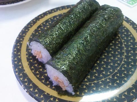 はま寿司の国産大豆の納豆巻