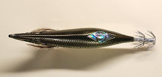 ダイワの餌木「エメラルダス ヌード」の背面