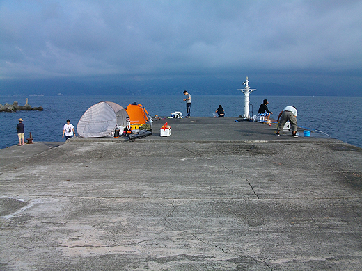 東伊豆・初島の第一堤防