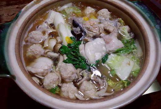 我が家のアンコウ鍋は江戸前流の醤油炊き