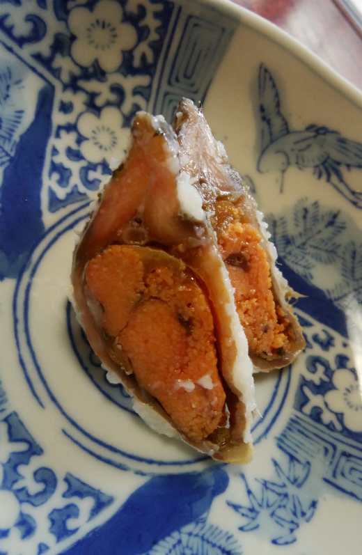 住茂登の鮒鮨