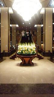 帝国ホテルの最上階17階にある鉄板焼き「嘉門」
