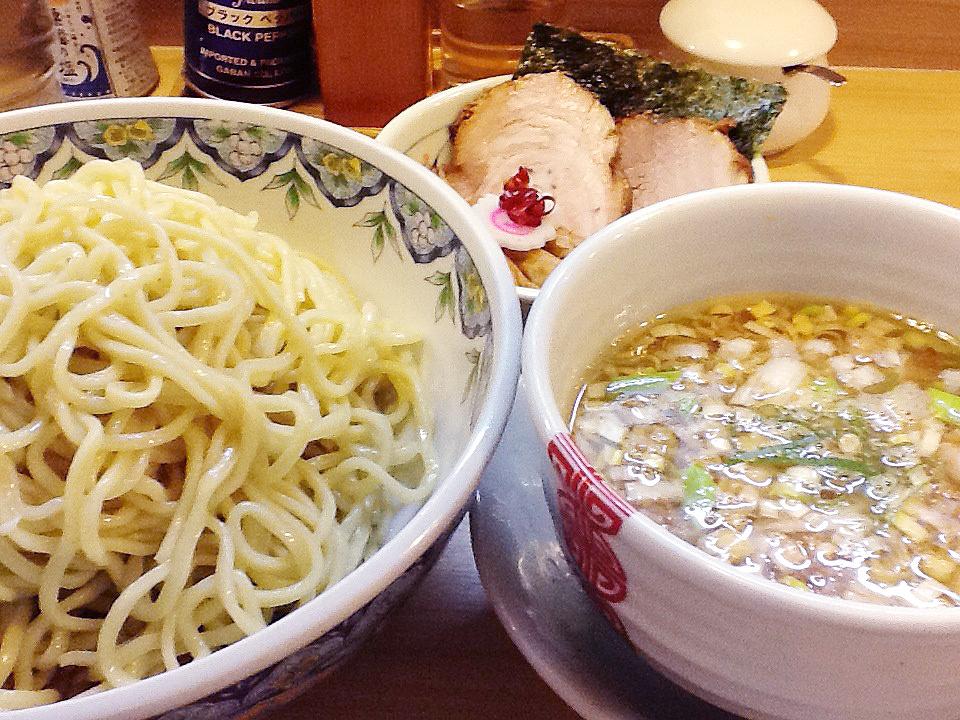 多賀野のつけ麺『粟国の塩つけそば』