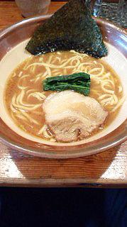月光の豚ラーメン 太麺