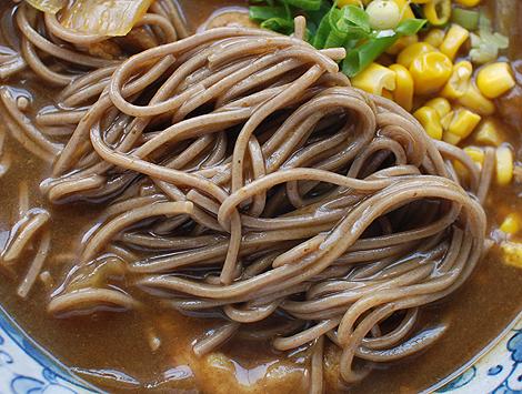 自家製カレーそばに使った田舎蕎麦の乾麺