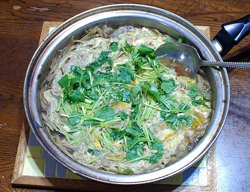 鴨肉の柳川鍋